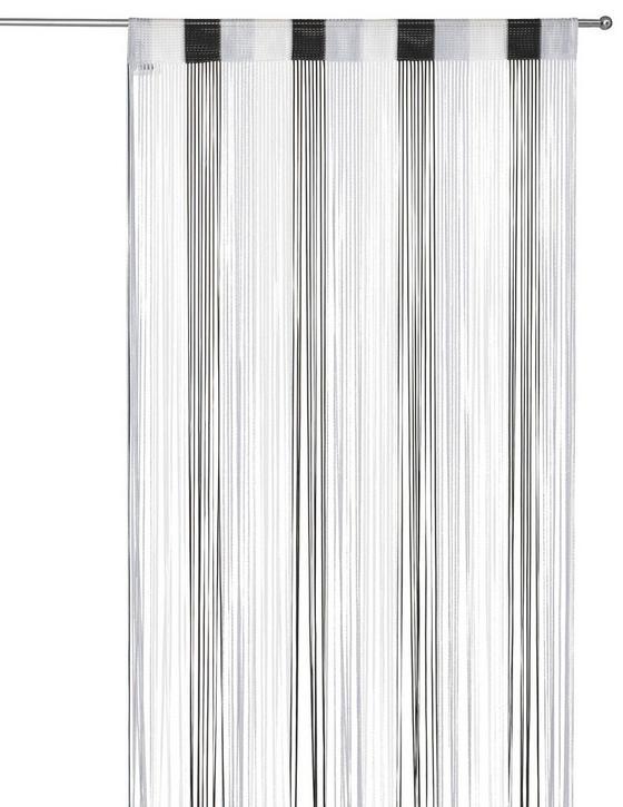 Fadenstore Rita - Multicolor/Schwarz, KONVENTIONELL, Textil (90/245cm) - Luca Bessoni