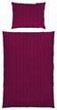 Povlečení Konsti - antracitová/bobulová, Konvenční, textil (140/200cm) - Mömax modern living