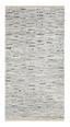Handwebteppich Isadora 70x140 cm - Weiß, Leder/Textil (70/140cm) - James Wood