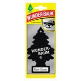 Wunderbaum Black Classic - Schwarz, KONVENTIONELL (7,5/19/0,4cm)
