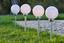 Solarleuchte Verena - Silberfarben/Weiß, KONVENTIONELL, Kunststoff (20/62cm) - Homezone