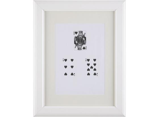 Rám Na Obrazy Provence - bílá, Romantický / Rustikální, dřevo/sklo (30/40/2cm) - Mömax modern living