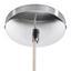 Závesná Lampa Greta - biela, Štýlový, drevo (46/120cm) - Modern Living