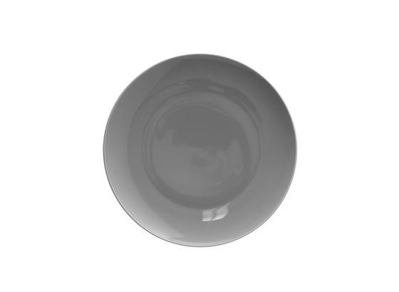 Talíř Dezertní Sandy - šedá, Konvenční, keramika (20,4/1,8cm) - Mömax modern living
