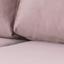 Wohnlandschaft Norwich 148x233 cm Altrosa - Schwarz/Altrosa, Design, Textil (148/233cm) - Livetastic