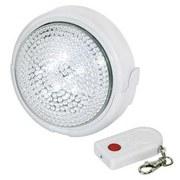 Drück-mich-Leuchte mit Fernbedienung - Weiß, Kunststoff (13cm) - HOMEZONE