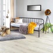 Bett Industrial 90x200 cm - Schwarz, MODERN, Metall (90/200cm)