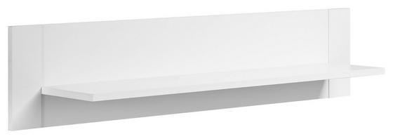 Wandboard Paula 96 cm Weiß - Weiß, MODERN, Holzwerkstoff (96/22/22cm)