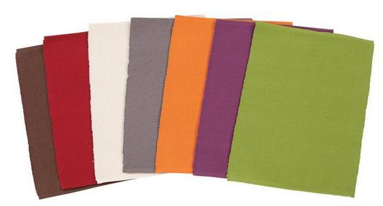 Tányéralátét Maren - lila/natúr színek, konvencionális, textil (30/40cm) - Ombra