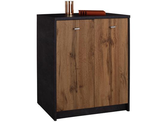 Komoda 4-you Yuk03 - barvy dubu, Moderní, kompozitní dřevo (74/85,4/34,6cm)
