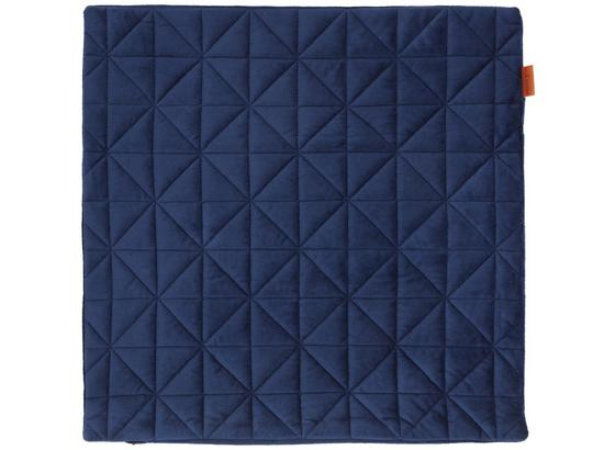 Povlak Na Polštář Mary Samt - modrá, Moderní, textil (45/45cm) - Mömax modern living