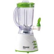 Smoothie Maker Fitmix - Weiß/Grün, MODERN, Kunststoff (17,1/40/26,3cm) - MEDIASHOP