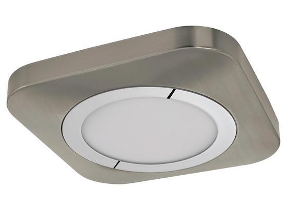 LED-Deckenleuchte Puyo - Chromfarben/Weiß, MODERN, Kunststoff/Metall (32/32/5,5cm)