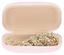 Aufbewahrungsbox Sweet Heart - Hellrosa/Schwarz, KONVENTIONELL, Kunststoff/Metall (8.5/4.8/3.3cm)