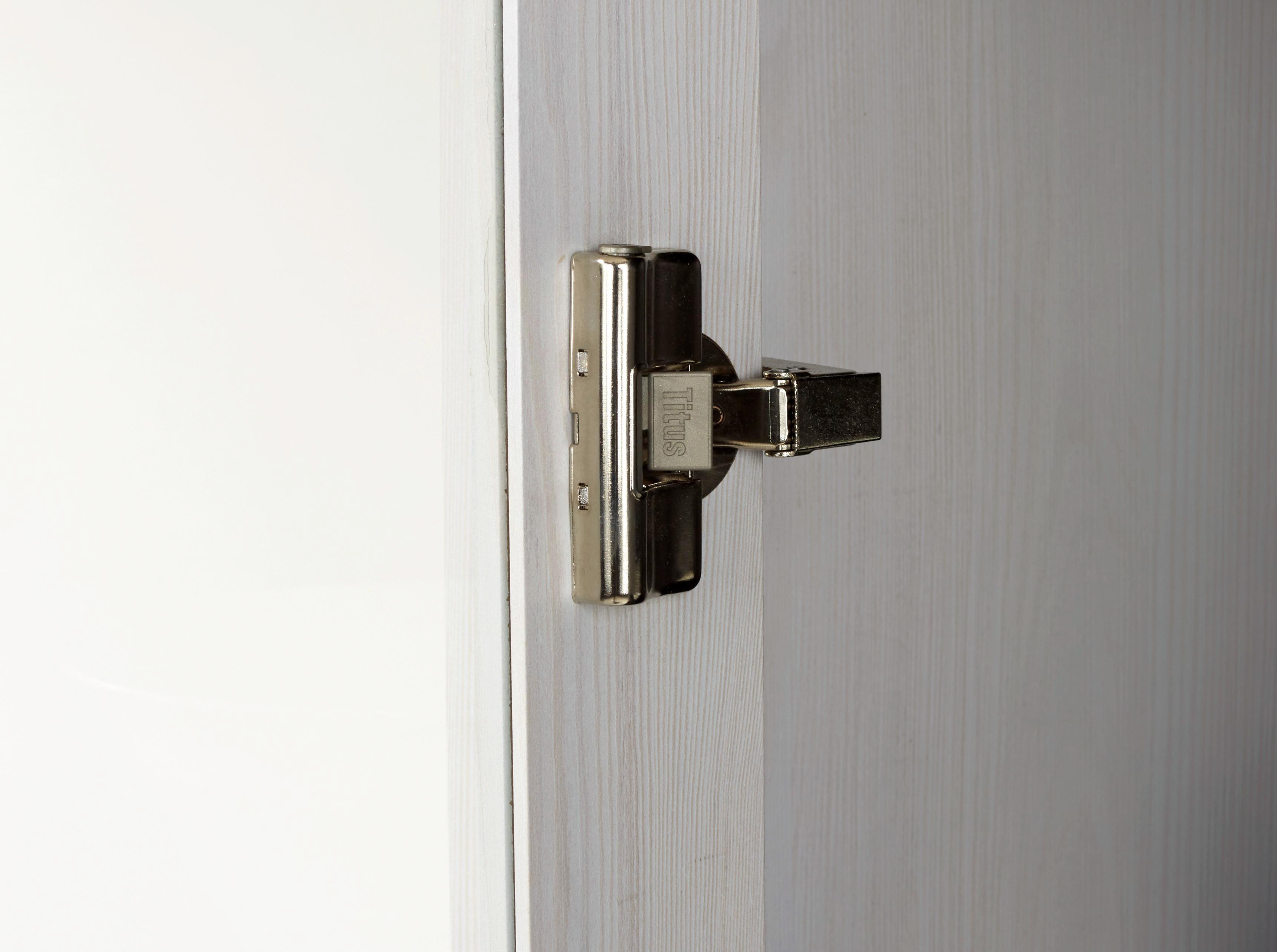 Vitrin Provence - tiszta/fehér, romantikus/Landhaus, faanyagok (103,5/142,2/42cm) - JAMES WOOD