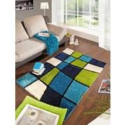 Shaggy Szőnyeg Fancy - Zöld/Kék, konvencionális, Textil (160/230cm) - Luca Bessoni
