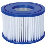 Filterkartusche für Lay-Z-Spa D:11x H:8cm 58323 - Blau/Weiß, KONVENTIONELL, Kunststoff (10,6/8cm) - Bestway