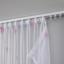 Záves S Pútkami Claudia -eö- -ext- - pink/biela, Romantický / Vidiecky, textil (140/245cm) - Mömax modern living