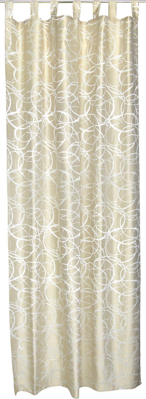 Kombi Készfüggöny Linda - Bézs, konvencionális, Textil (140/255cm)
