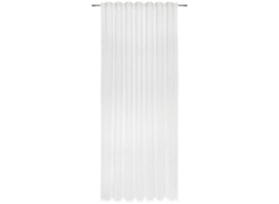 Záves Sigrid - biela, Romantický / Vidiecky, textil (140/245cm) - Premium Living