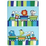 Kinderteppich Lionel - Blau, Textil (100/150cm) - LUCA BESSONI