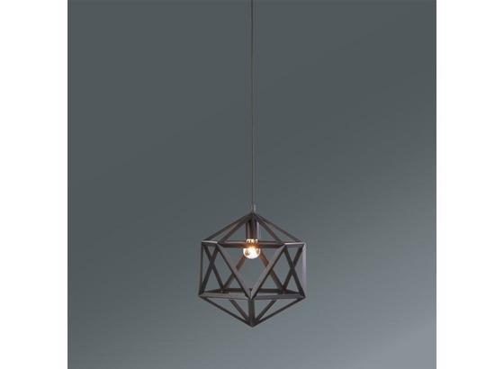 Závesná Lampa Asti - čierna, Moderný, umelá hmota/kov (35/35/125cm) - Mömax modern living