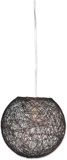 Svítidlo Závěsné Sophia - hnědá, Lifestyle, textil (50cm) - MÖMAX modern living