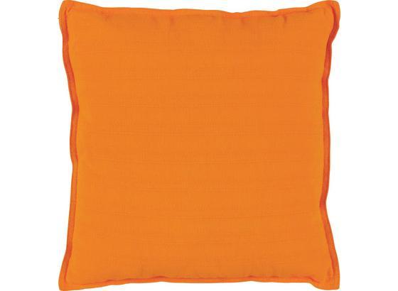 Dekoračný Vankúš Solid One -ext- - oranžová, textil (45/45cm)