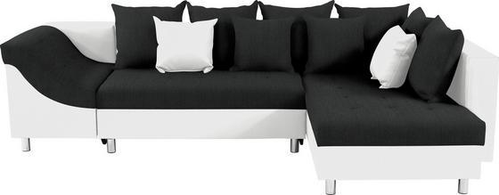 Sedací Souprava Linda - bílá/černá, Moderní (270/174cm)