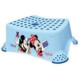 Tritthocker Tomek Mickey - Blau, Kunststoff (40,5/28,5/14cm) - Disney