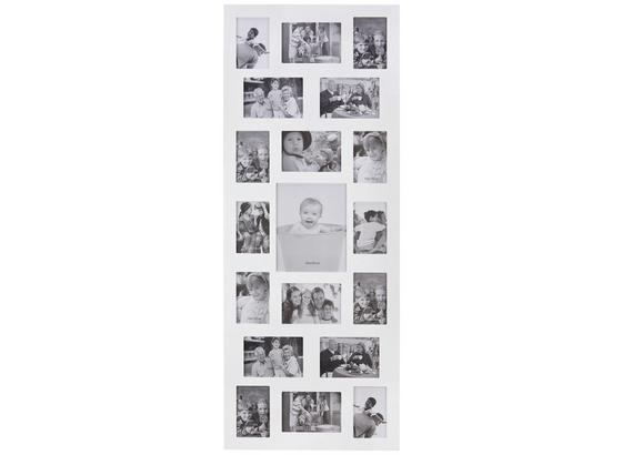 Rám Na Fotky Anja -top- - biela, kompozitné drevo (47,5/121/1,5cm) - Mömax modern living