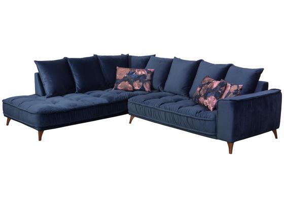 Sedací Souprava Belavio - tmavě modrá, Moderní, textil (210/288cm)