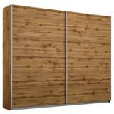 Schwebetürenschrank Belluno 226 cm Wotan Dekor - Eichefarben, MODERN, Holzwerkstoff (226/230/62cm)