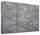 Schwebetürenschrank Belluno 271 cm Grau - Grau, MODERN, Holzwerkstoff (271/210/62cm)