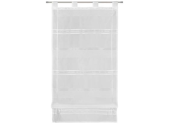 Stuhová Roleta Louis - biela, Konvenčný, textil (60/140cm) - Mömax modern living