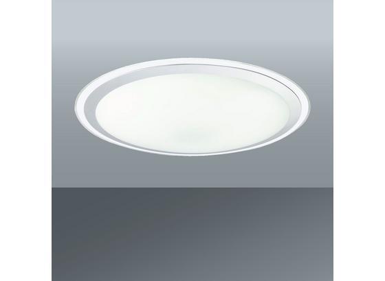 Led Stropná Lampa Optima - umelá hmota/kov (80/10cm)