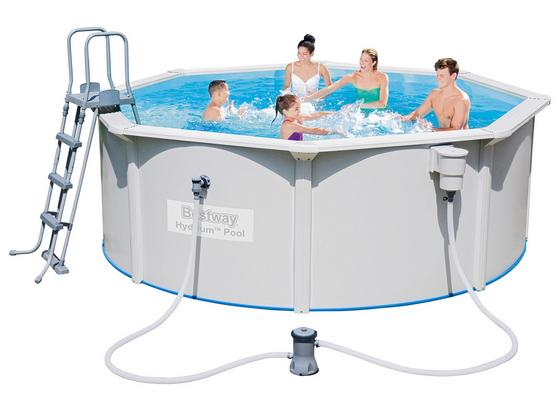 bestway stahlwandpool hydrium set 56571 online kaufen m belix. Black Bedroom Furniture Sets. Home Design Ideas