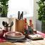Talíř Jídelní Carmen - přírodní barvy/červená, Konvenční, dřevo/přírodní materiály (24cm) - Mömax modern living