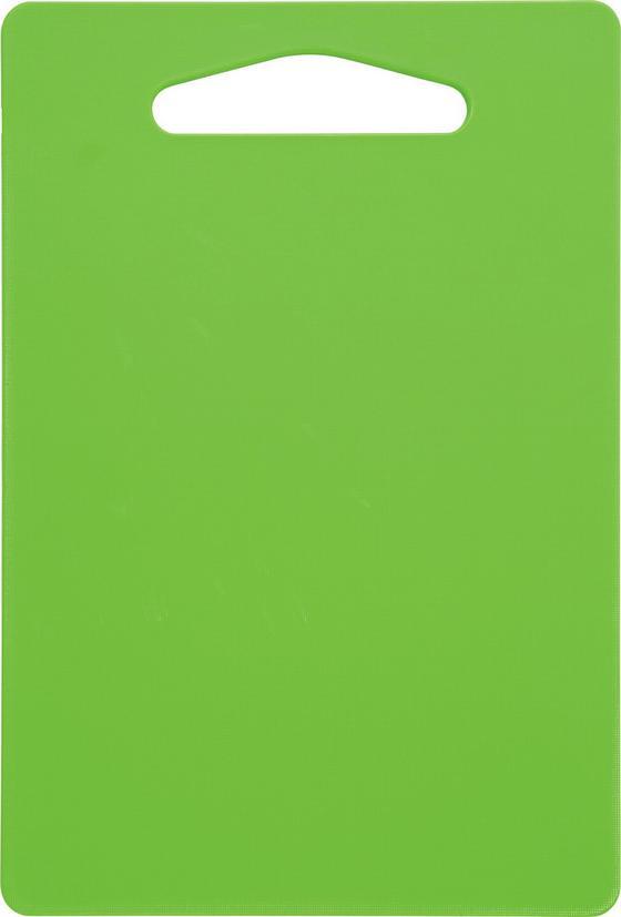 Schneidebrett Jim - Gelb/Weiß, KONVENTIONELL, Kunststoff (34/0,7/24,2cm) - Homezone