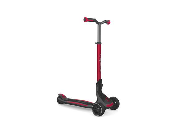Scooter Globber Ultimum L: 63 cm - Rot/Schwarz, Basics, Kunststoff/Metall (63/39,5/101cm)