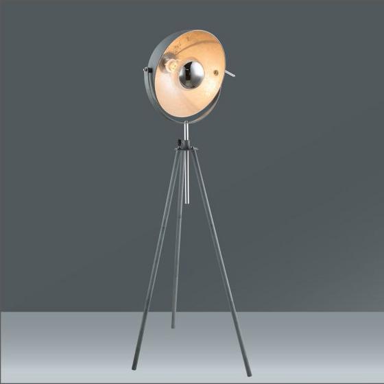 Stojací Lampa Blanche -eö- - šedá, Lifestyle, kov (69/179cm) - Mömax modern living