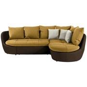 Sedacia Súprava S Rozkladom Florida 280x192 Cm - prírodné farby/hnedá, Moderný, textil (280/192cm) - Luca Bessoni