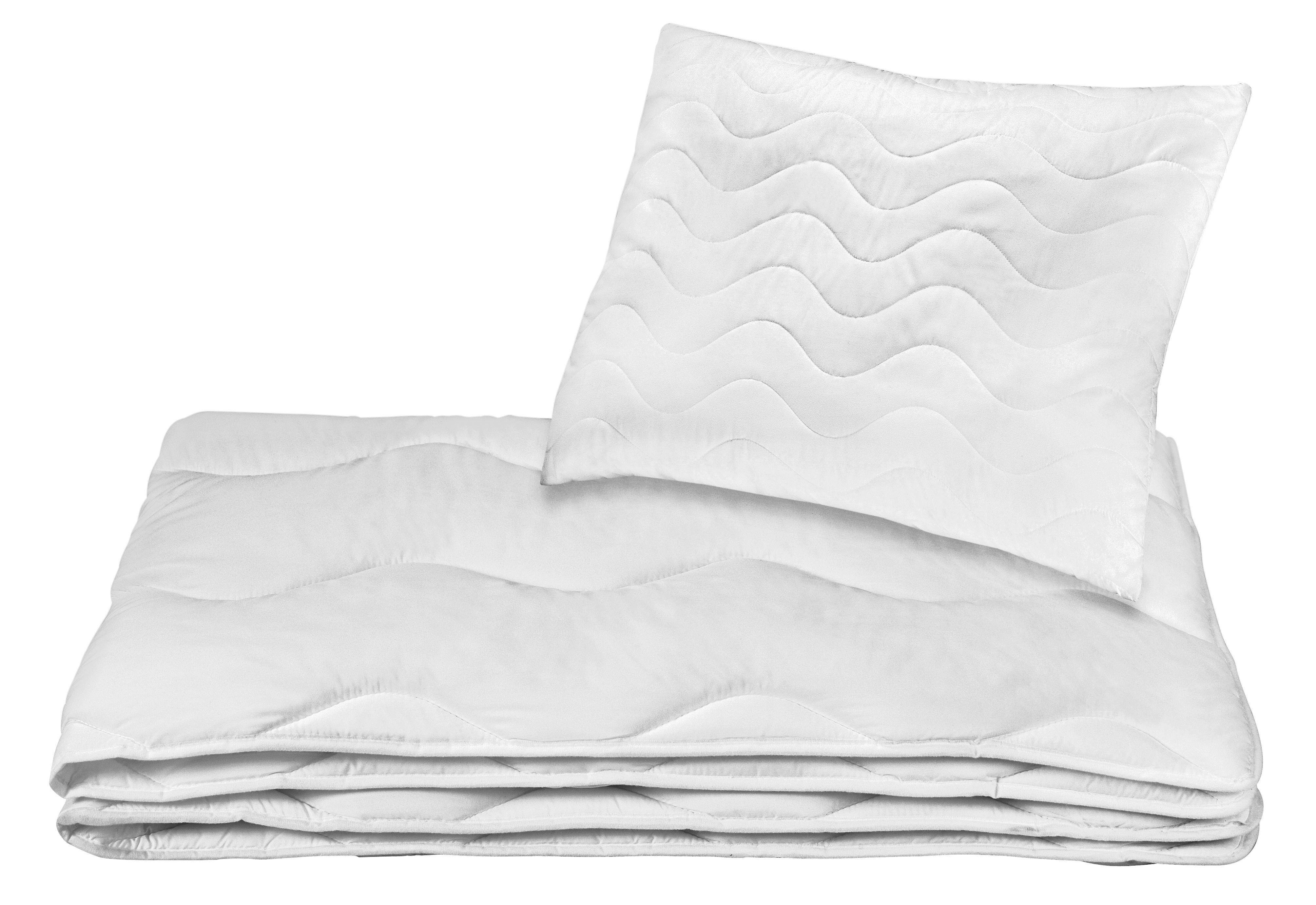Bettenset Olga - Weiß, KONVENTIONELL, Textil - PRIMATEX