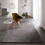 Koberec Tkaný Berlin 3 - bílá/titanová, textilie (160/230cm) - Mömax modern living