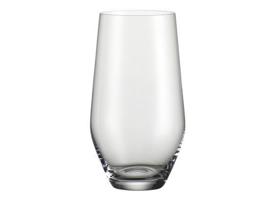 Pohár Na Longdrink Norma - číra, Moderný, sklo (0,42l) - Bohemia
