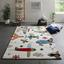 Detský Koberec Lietadlá - viacfarebná, textil (120/170cm) - Mömax modern living