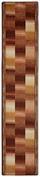 Läufer Ikat 67x300 cm - Beige, Basics, Textil (67/300cm) - Ombra