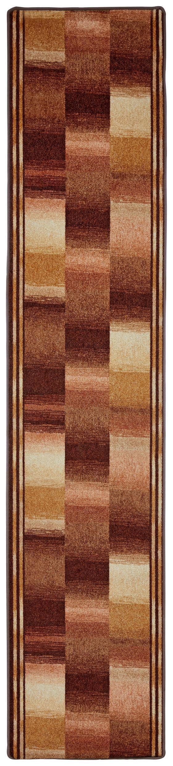 Läufer Ikat - Beige, Basics, Textil (67/300cm) - Ombra