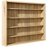 Hängevitrine Collectizioni B:80cm mit Sicherheitsglas - Sonoma Eiche, KONVENTIONELL, Glas/Holzwerkstoff (80/60/9,5cm) - Carryhome