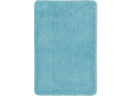 Rohožka Do Kúpeľne Christina -top- - svetlomodrá, textil (60/90cm) - Mömax modern living